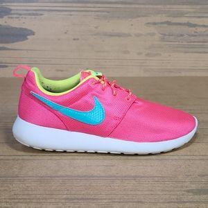 Nike Roshe One GS Hyper Pink Hyper Jade Kids Shoes